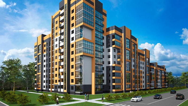 Жилые здания и комплексы